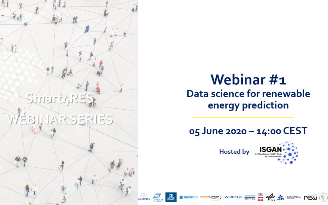 Webinar – Data science for renewable energy prediction