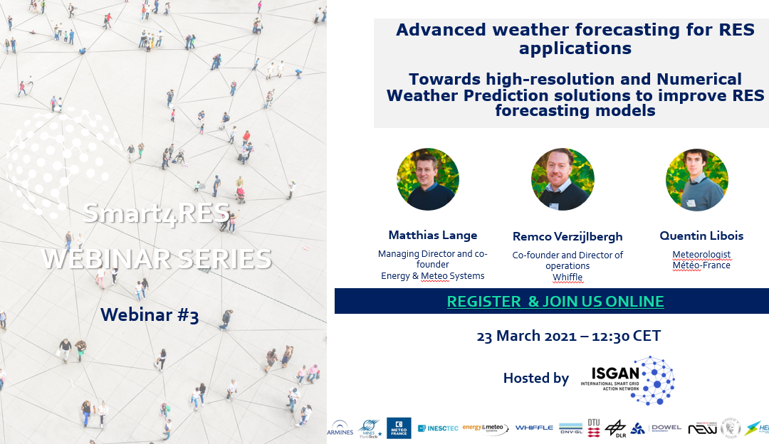 Smart4RES webinar series: episode on Advanced-Weather Forecasting